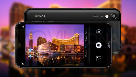 Honor 8S cámara