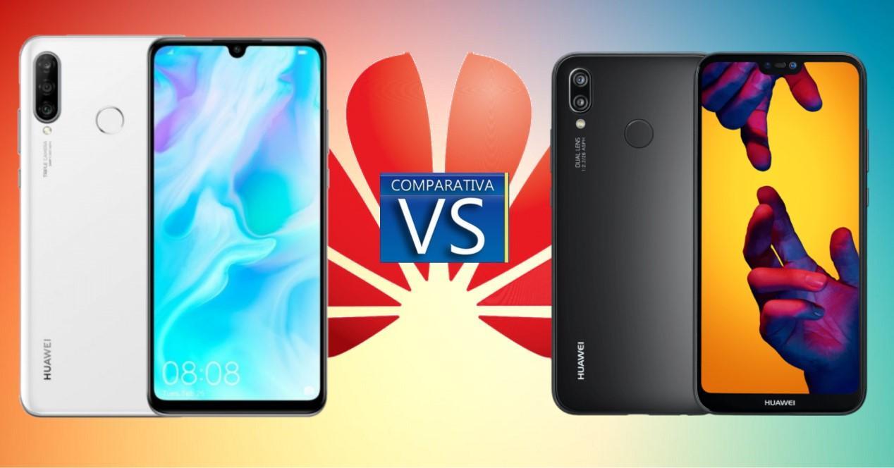 Huawei P30 Lite vs P20 Lite