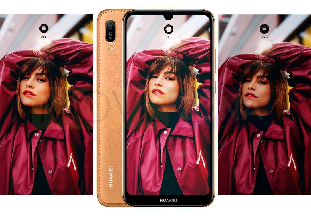 Huawei Y6 2019 marrón