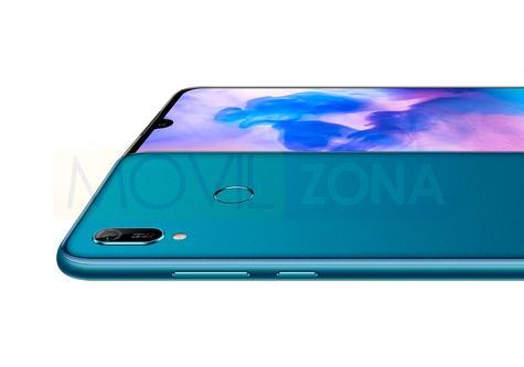 Huawei Y6 2019 detalle de la cámara