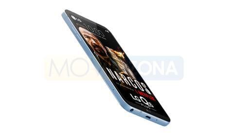 LG Q6 Plus perfil