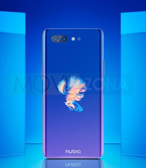 Nubia X azul