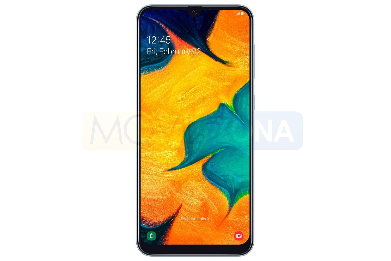 Samsung Galaxy A30 frontal