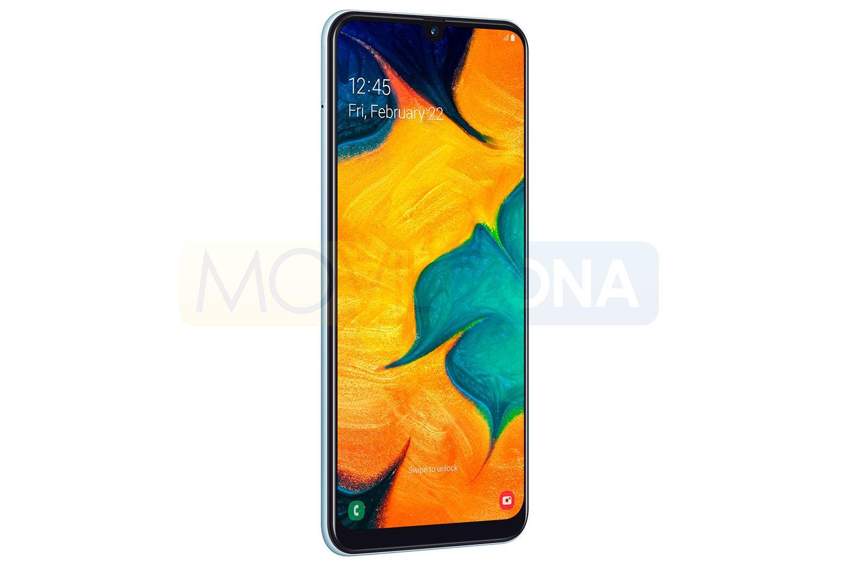 Samsung Galaxy A30 lateral