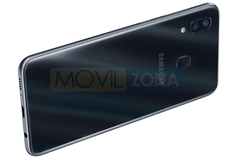 Samsung Galaxy A30 negro