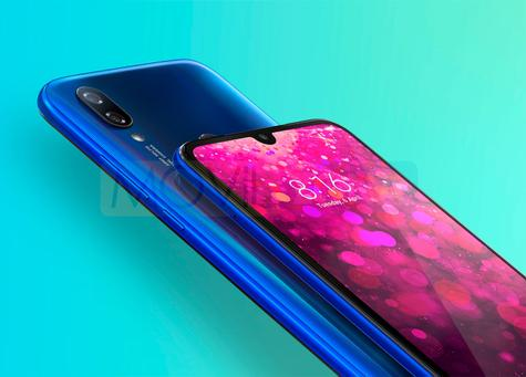 Xiaomi Redmi Y3 azul