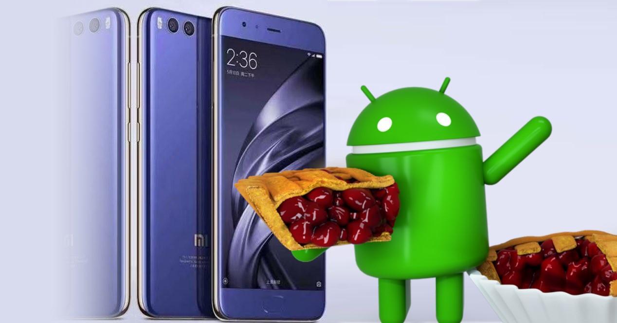 Xiaomi mi 6 Pie