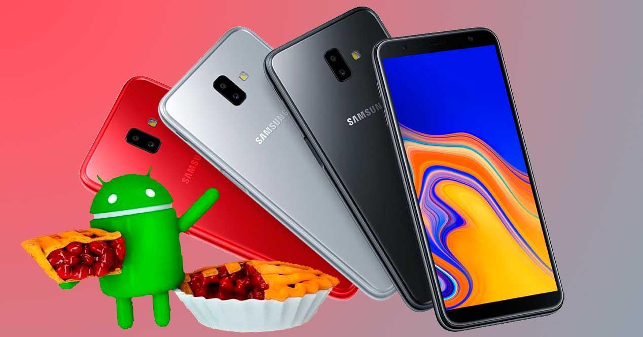 Android 9 Pie para el Samsung Galaxy J4+