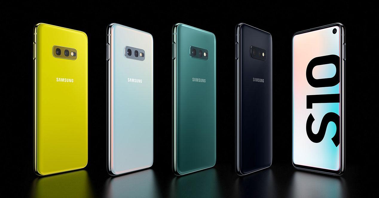 Samsung Galaxy S10e colores