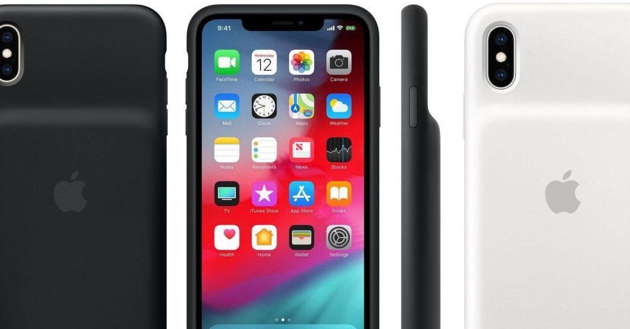 iphone carcasa batería