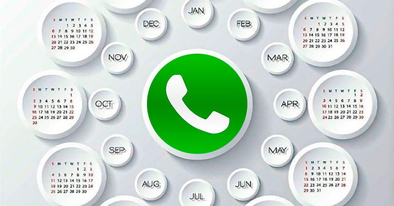 calendario whatsapp