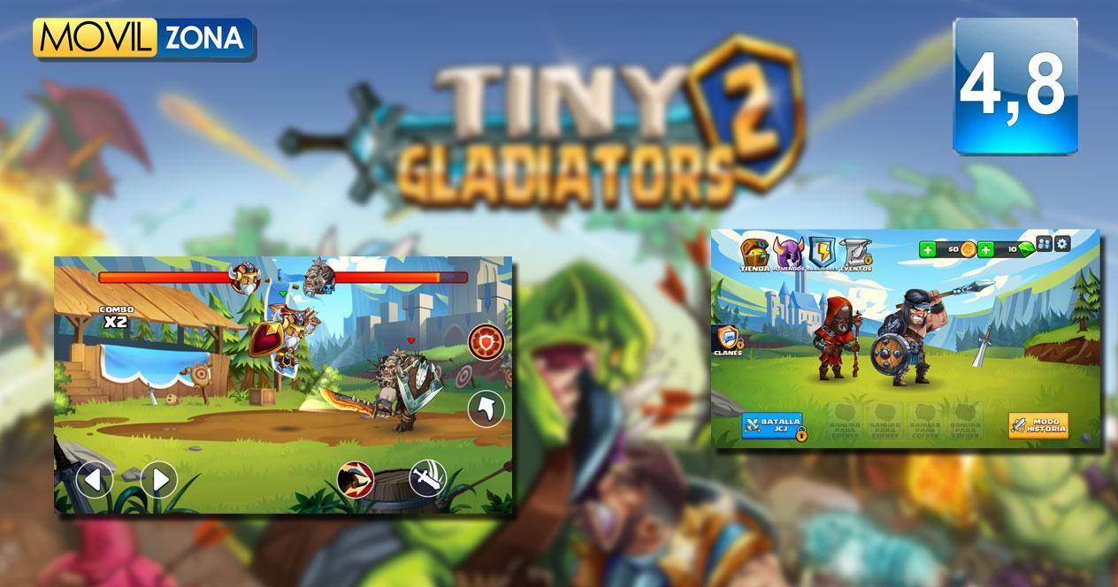 Juego Tiny Gladiators 2