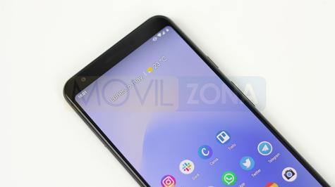 Google Pixel 3a XL frontal