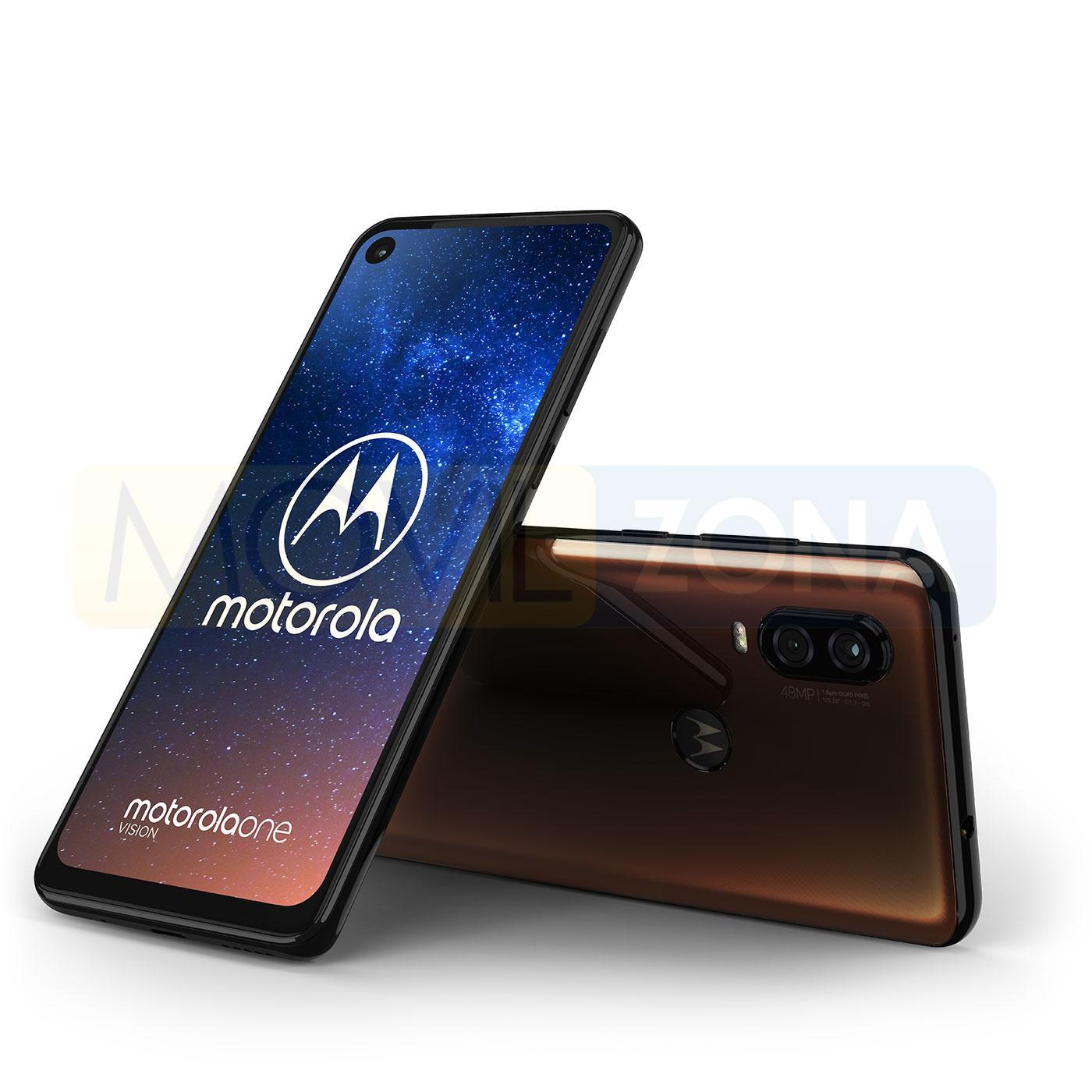 Motorola One Vision dorado