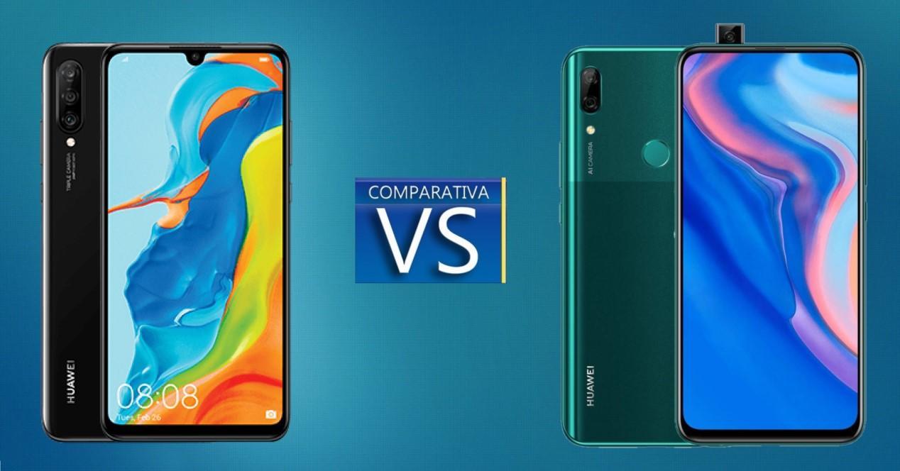 P30 Lite vs P Smart Z comparativa