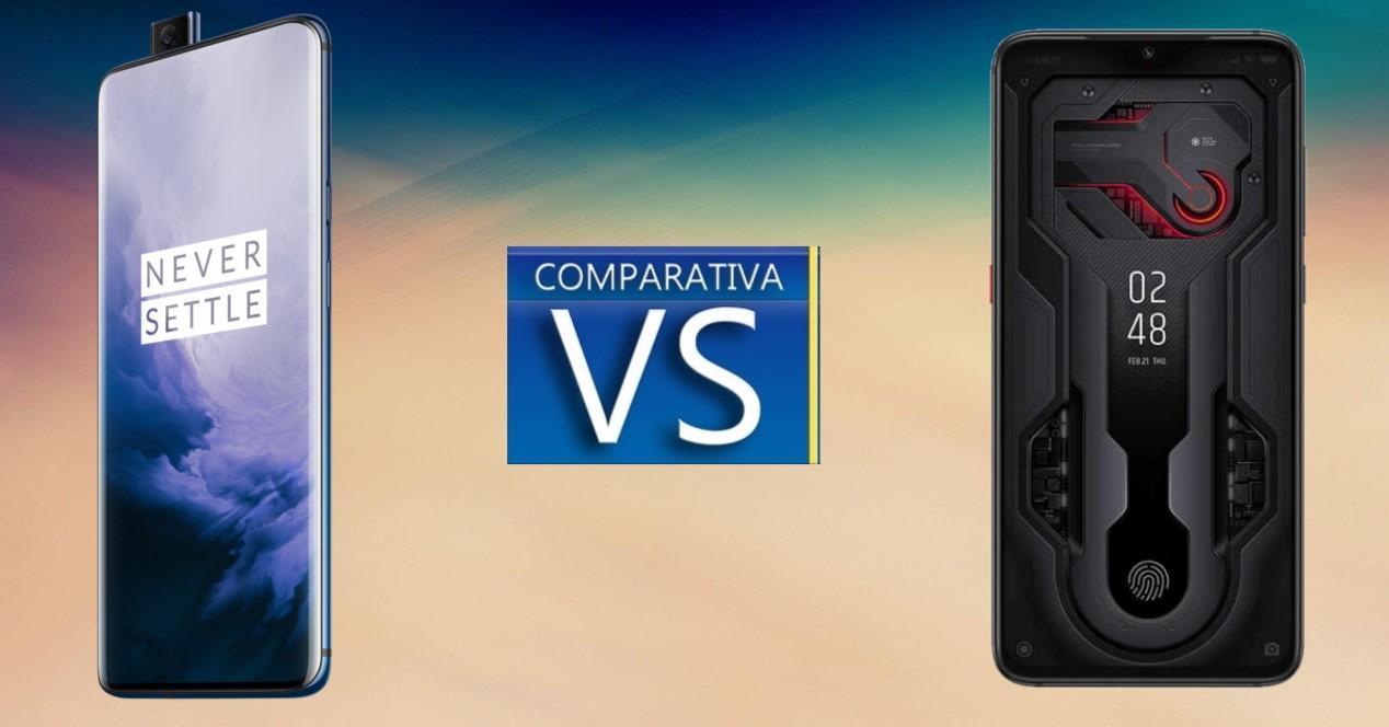comparativa OnePlus 7 Pro vs Mi 9 Transparent Edition