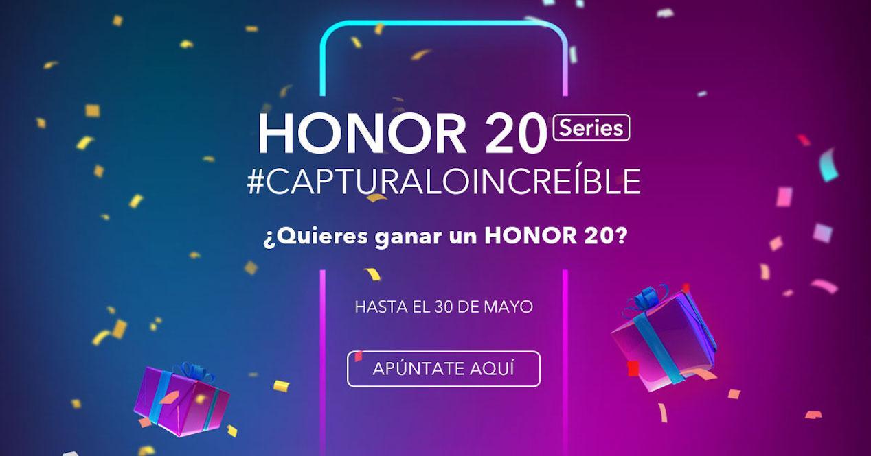 sorteo honor 20