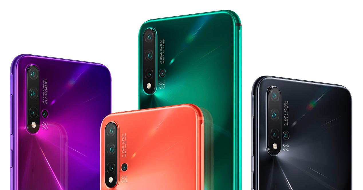Huawei Nova 5 portada