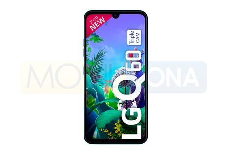 LG Q60 frontal