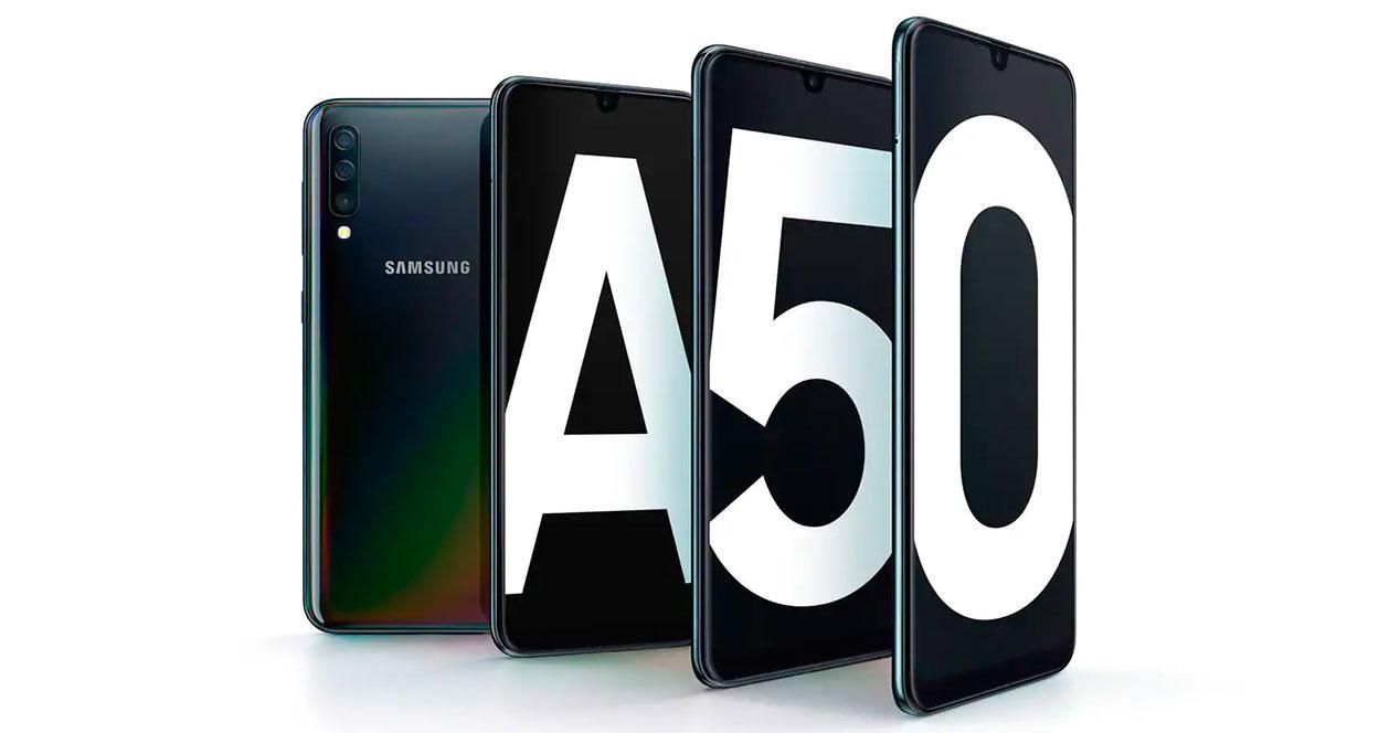 Actualización del Samsung Galaxy A50