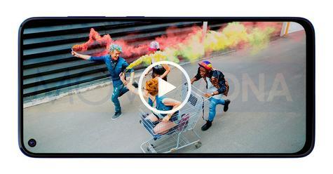 Samsung Galaxy M40 vídeo