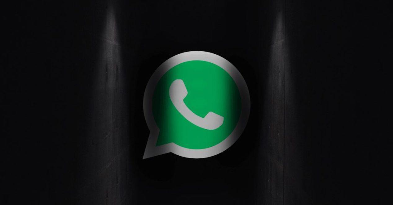 WhatsApp oscuro