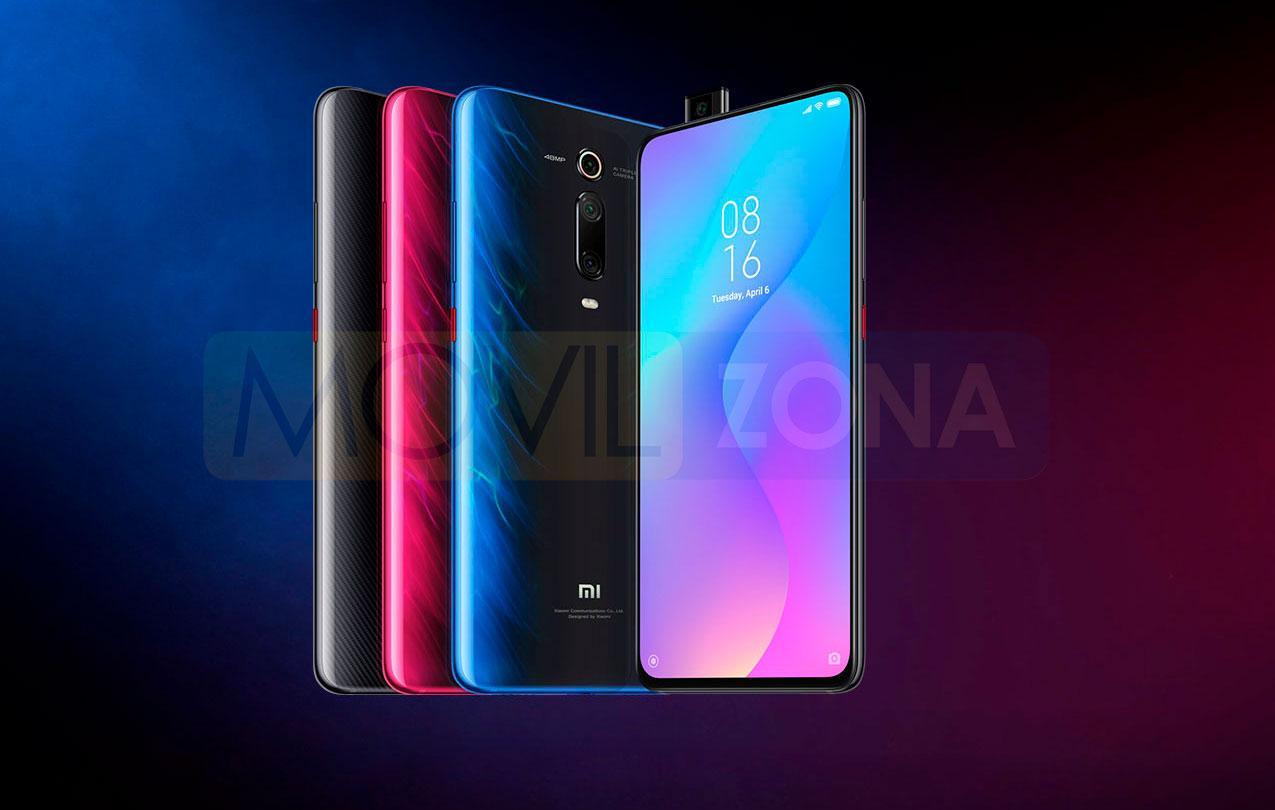 Xiaomi Mi 9T colores