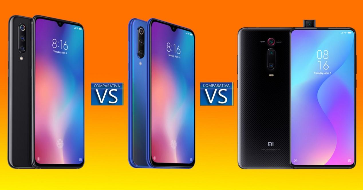 Xiaomi comparativa
