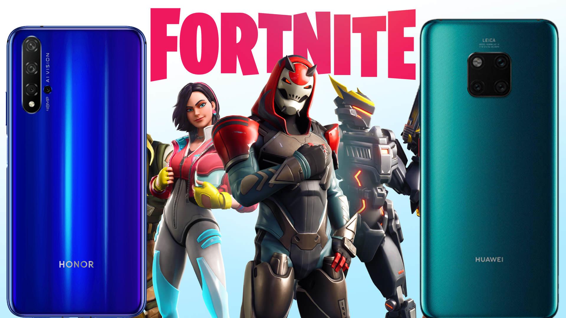 Fortnite Honor y Huawei