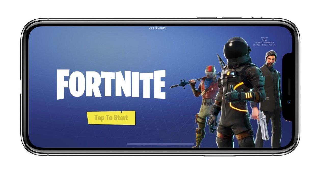 Fortnite en iPhone