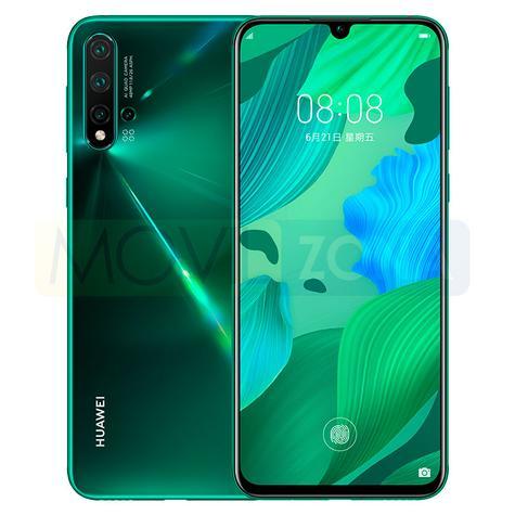 Huawei Nova 5 Pro vista delantera y trasera