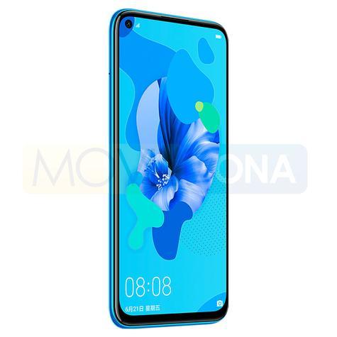 Huawei Nova 5i negro vista lateral