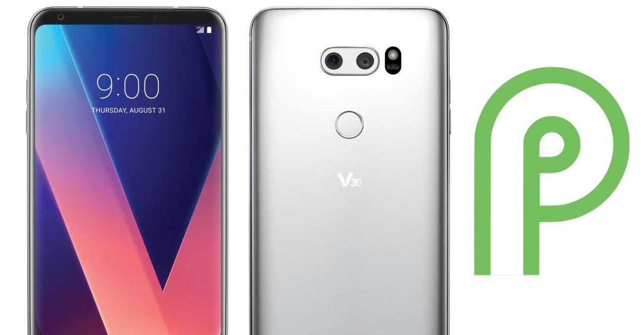 LGV30 Android 9 Pie