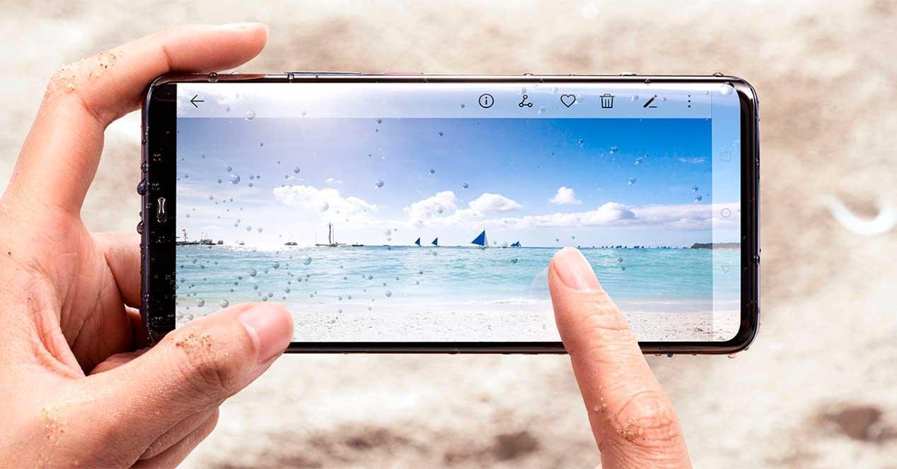 pantalla del Huawei Mate 30 Pro