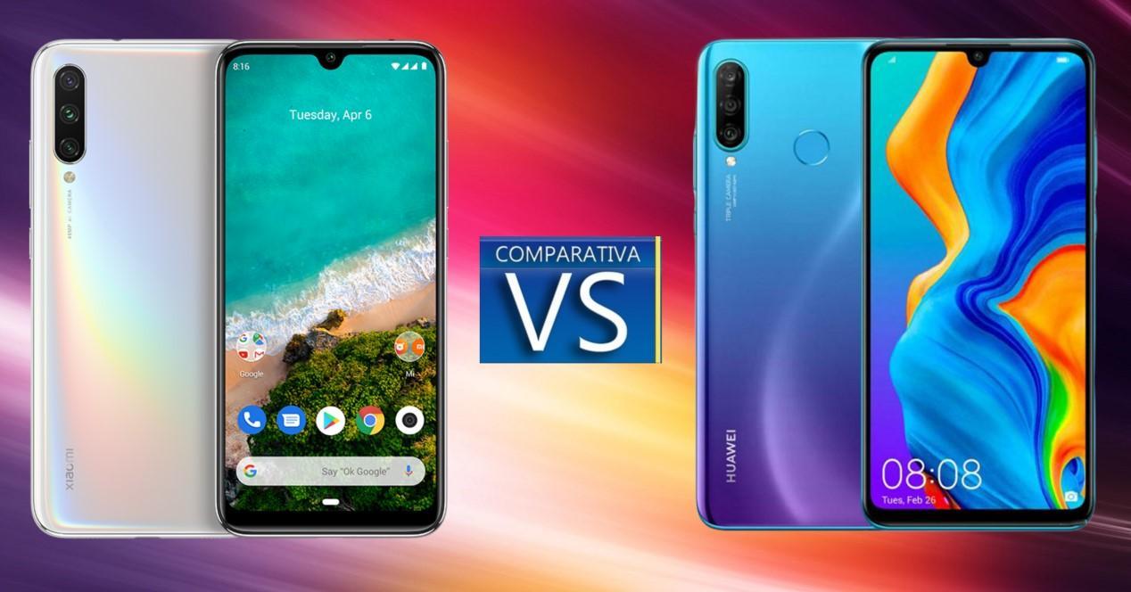 Xiaomi A3 vs Huawei P20 Lite
