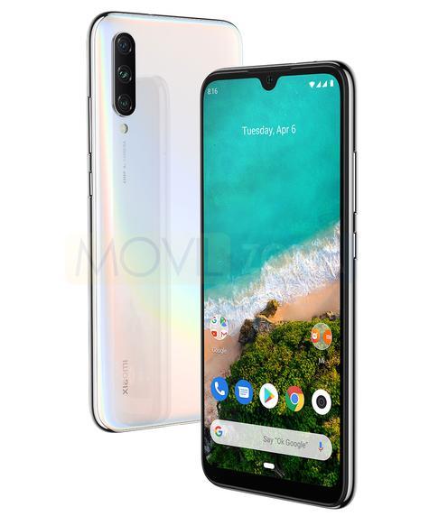 Xiaomi Mi A3 negro y blanco
