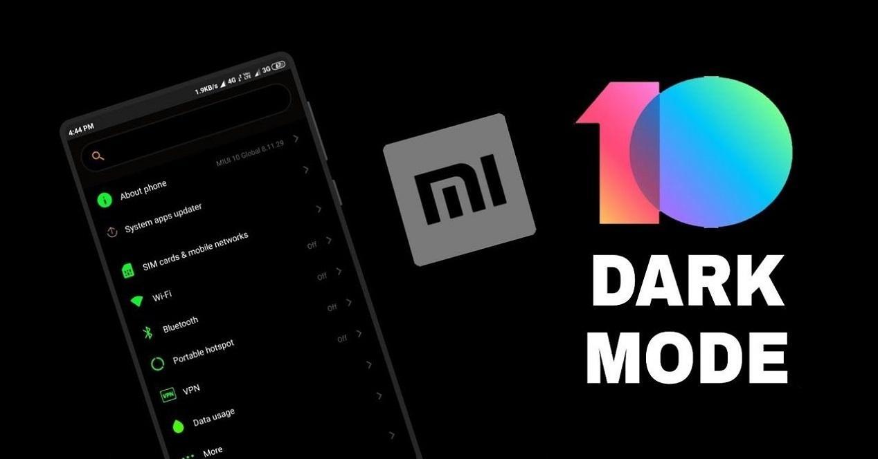 Xiaomi Modo Oscuro