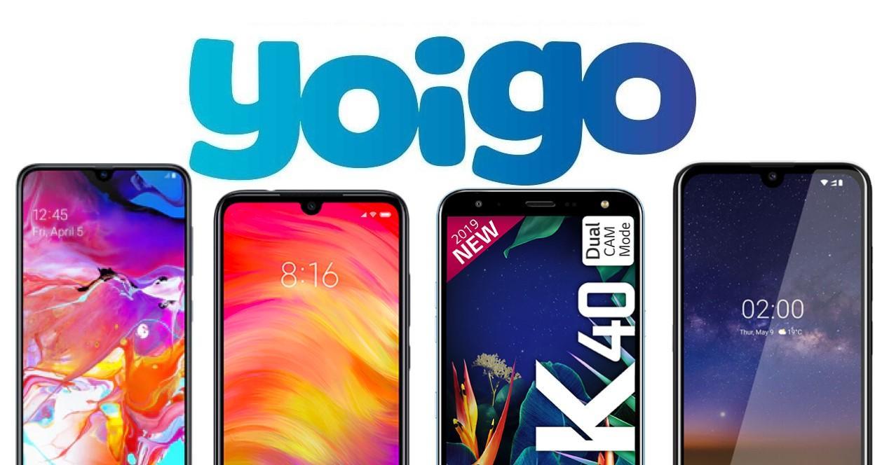 Yoigo móviles gratis julio 2019