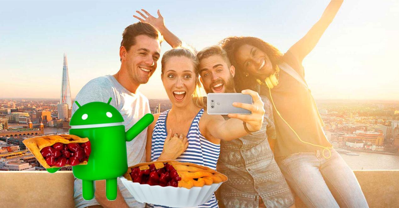 Android 9 para el LG G6