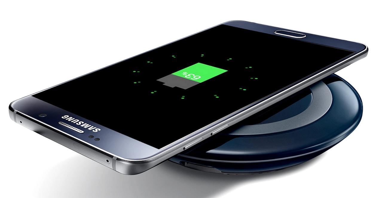 móviles samsung con carga inalámbrica