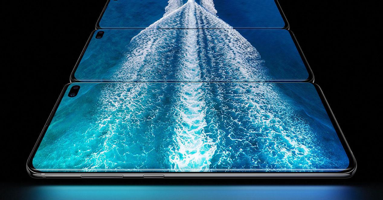 pantalla edge del Galaxy S10