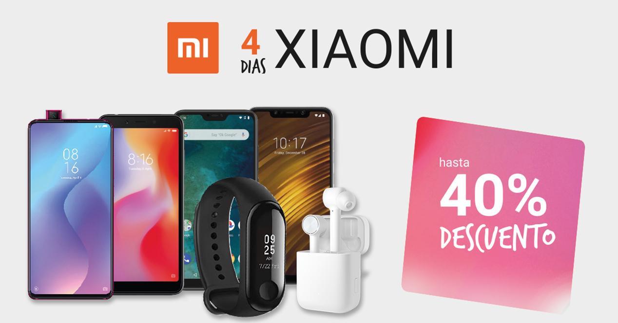 Hasta un 40% de descuento en dispositivos Xiaomi