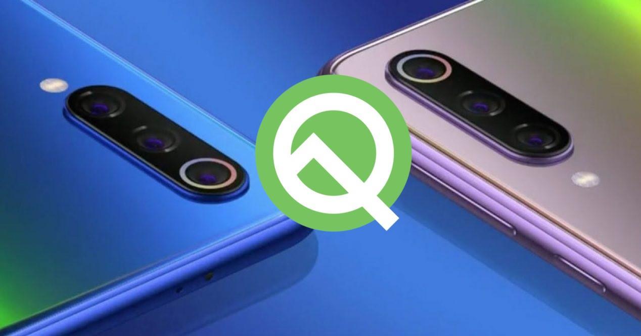 mi 9 Android Q