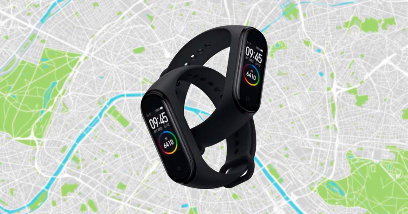 Google Maps en la Xiaomi Mi Band 4