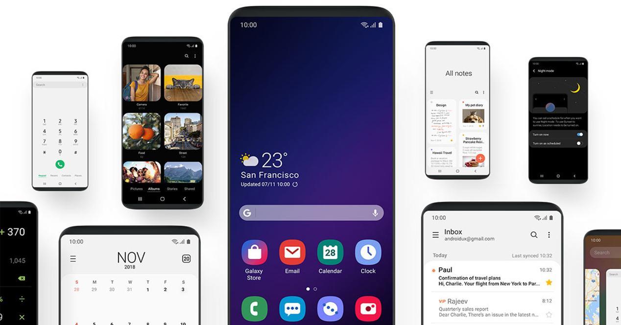One UI es la capa de personalización de Samsung