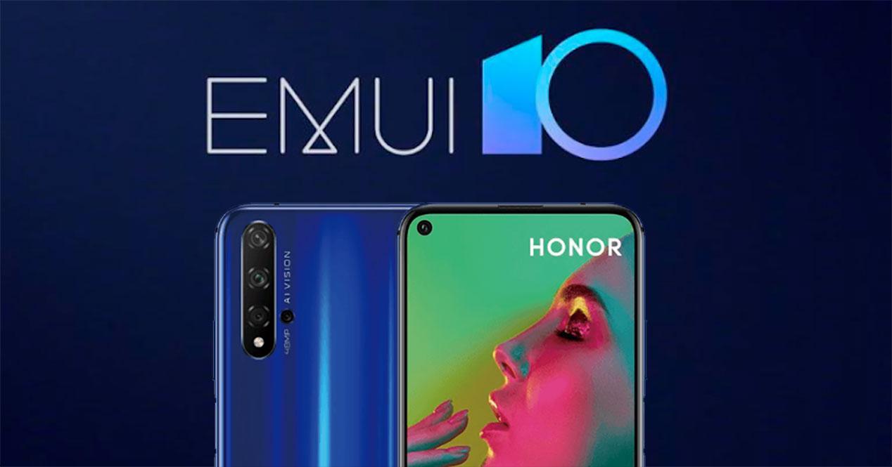 EMUI 10 honor 20