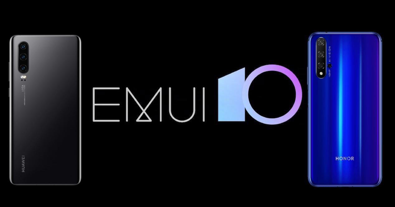 EMUI 10 Honor y Huawei