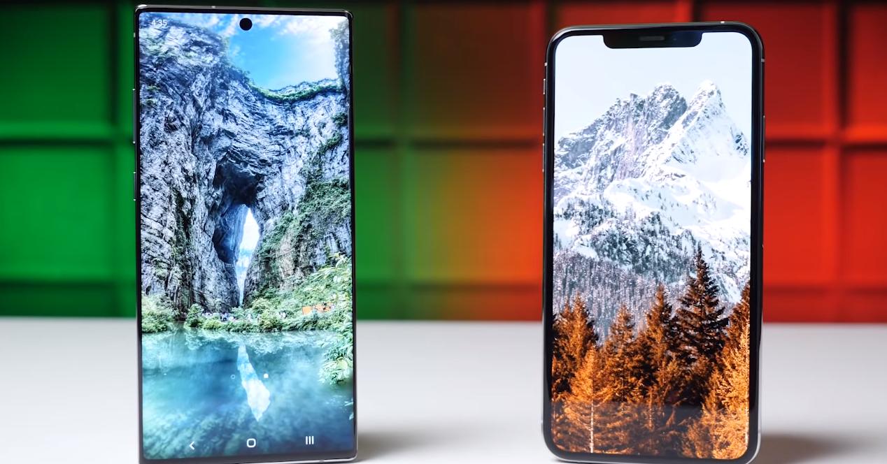 Galaxy Note 10 Plus vs iPhone XS Max