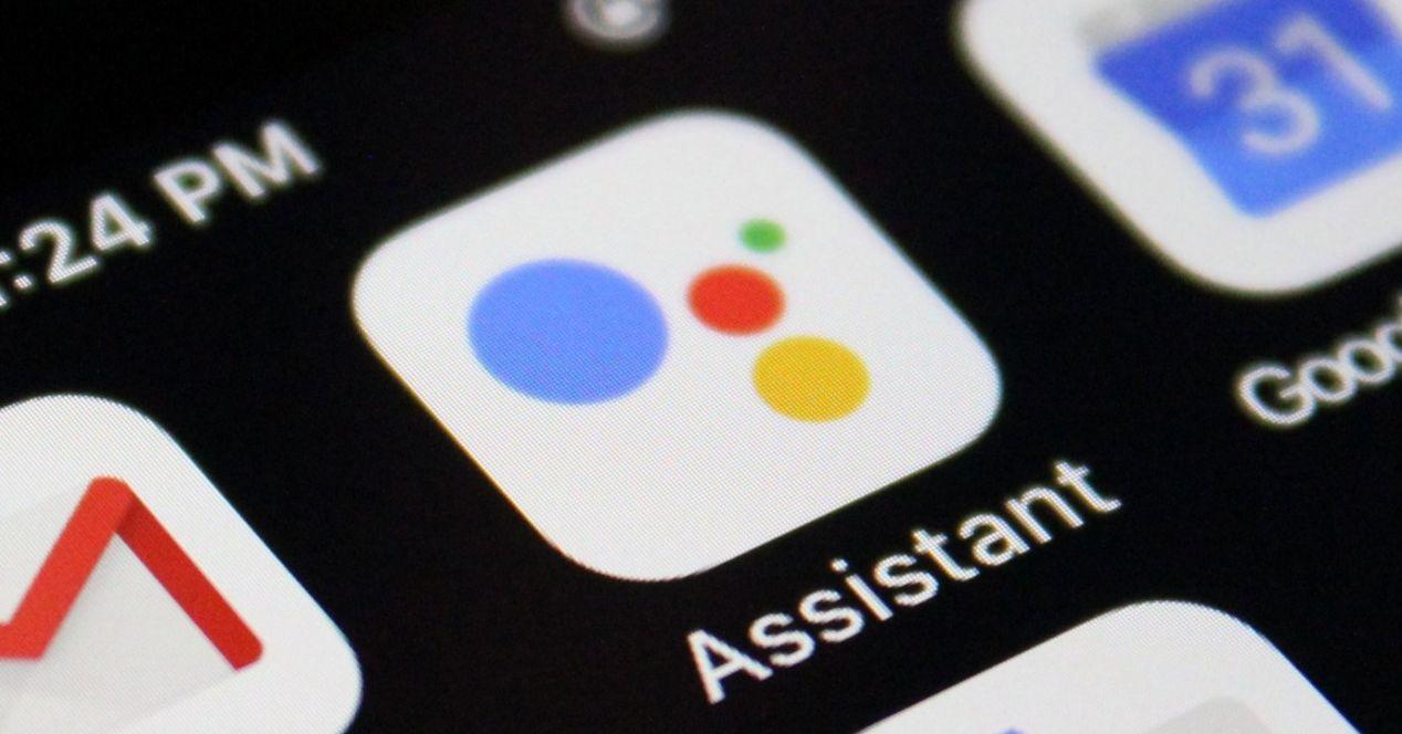 Google Assistant pantalla