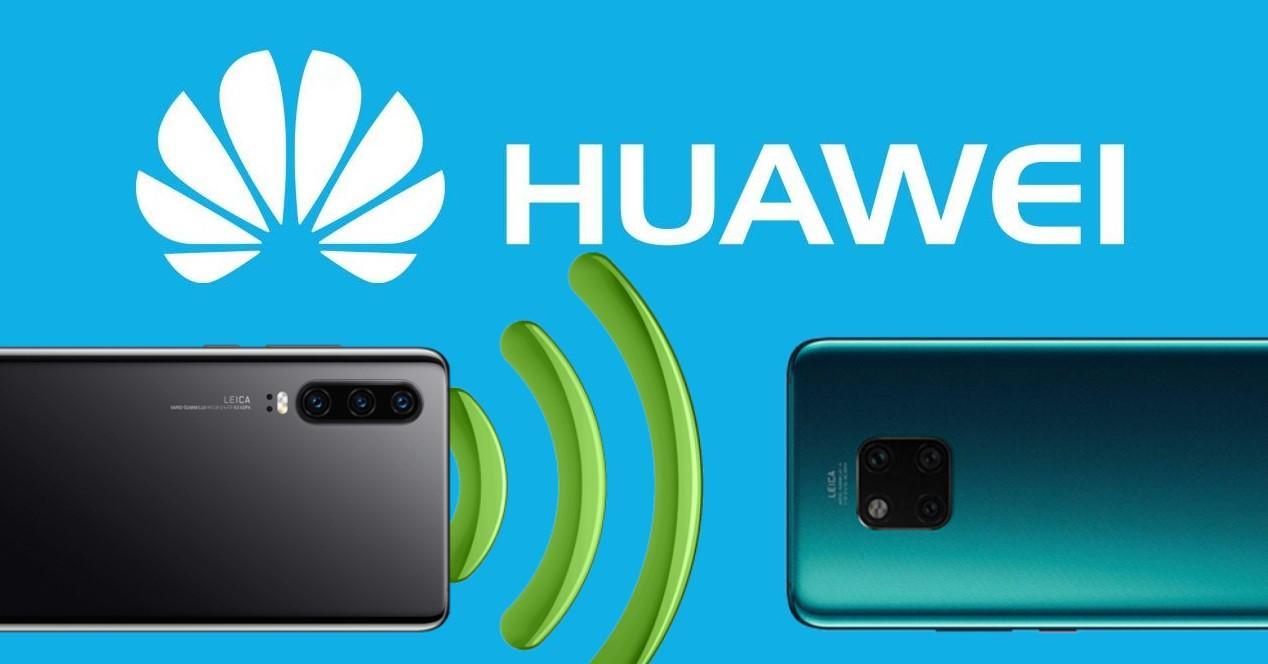 Huawei compartir Wi-Fi